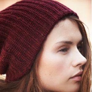 Free People Capsule Slouchy Knit Beanie Hat
